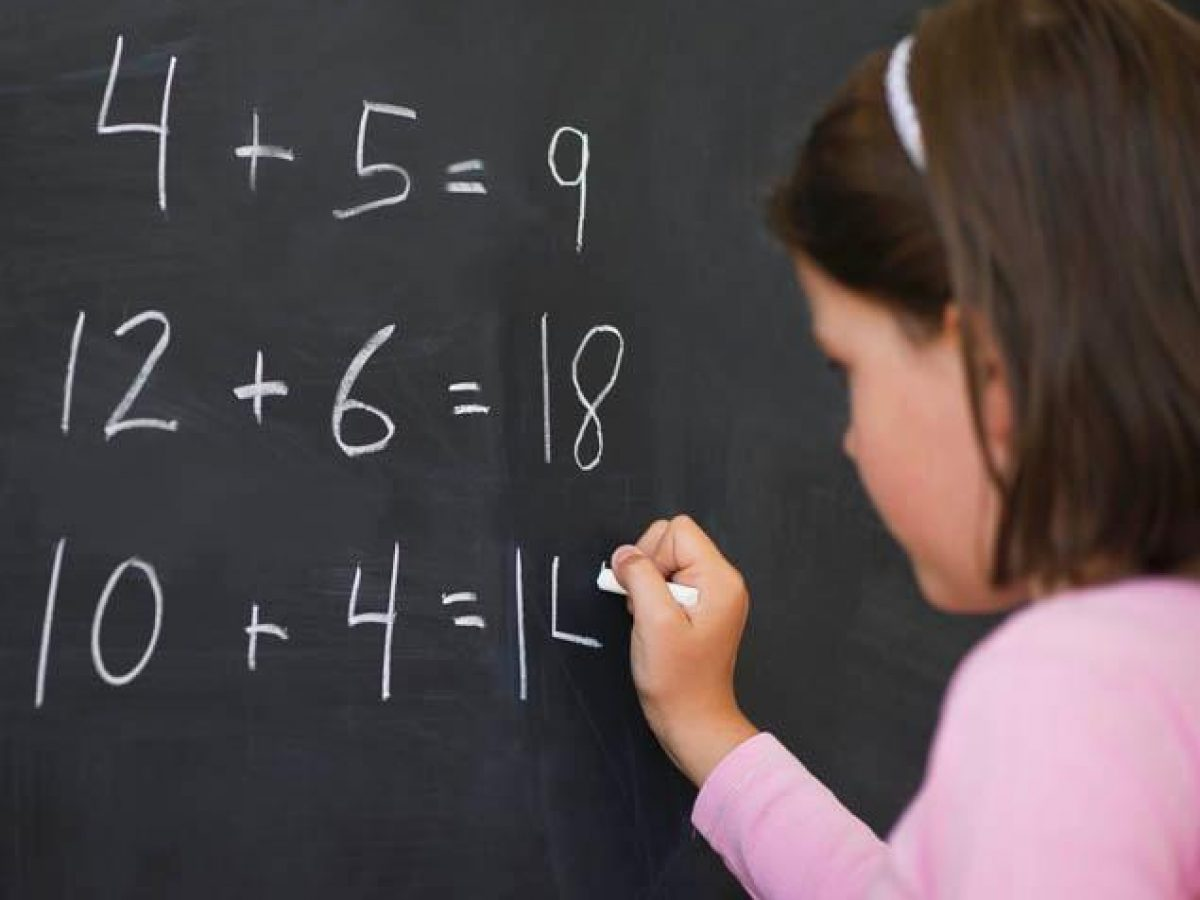 Niña matemáticas